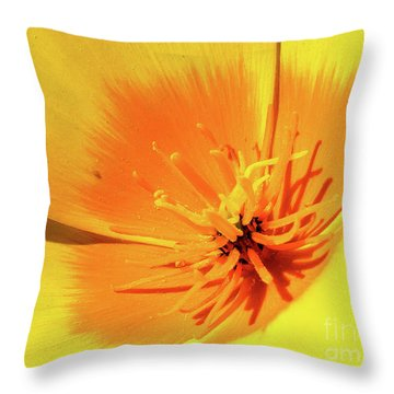 Poppy Impact Throw Pillow