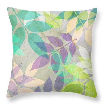 Poppy Shimmer IIi  Throw Pillow