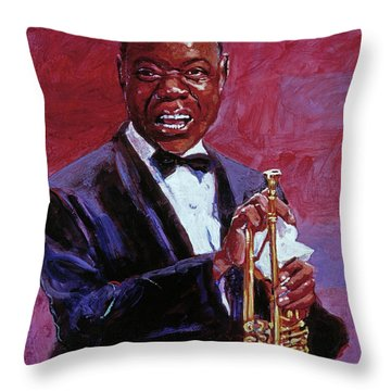 Pops Armstrong Throw Pillow