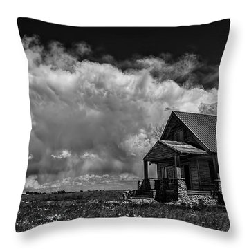 Porch View Throw Pillow