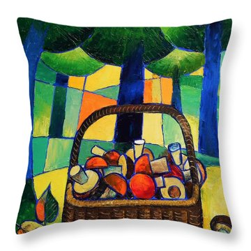 Porcini Throw Pillow
