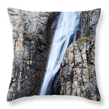 Porcupine Falls Throw Pillow