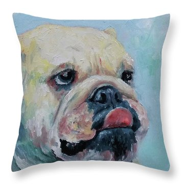 Pork Chop Throw Pillow