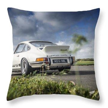 Porsche 2.7 Rs Throw Pillow