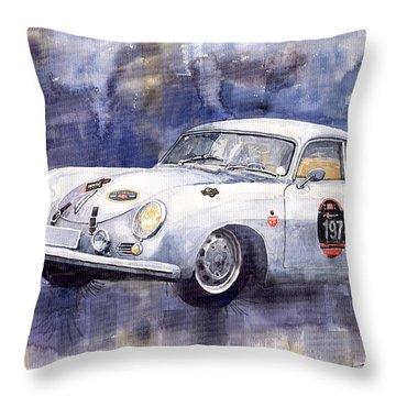 Porsche 356 Coupe Throw Pillow