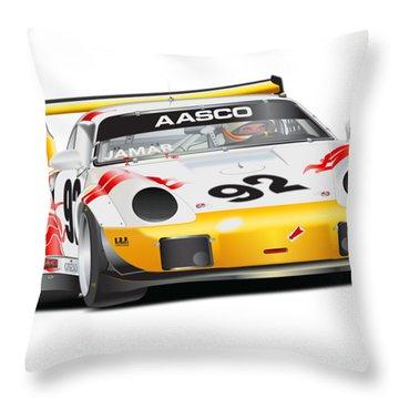 Porsche 911 Turbo Custom Throw Pillow