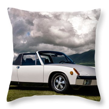 Porsche 914 Throw Pillow