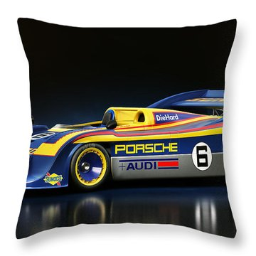 Porsche 917/30 Throw Pillow