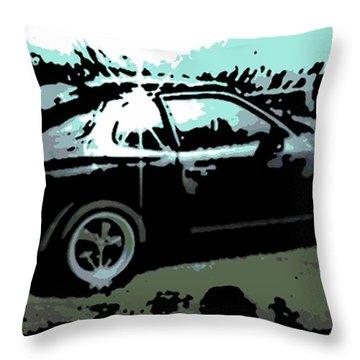 Porsche 944 Throw Pillow by George Pedro