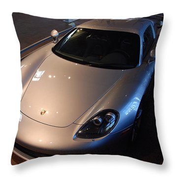 Porsche Carrera G T Throw Pillow