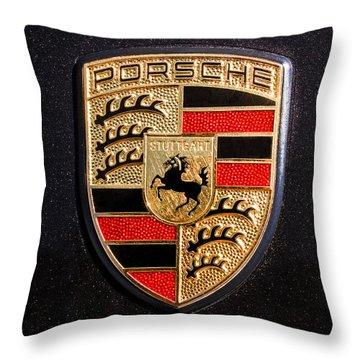 Porsche Throw Pillows