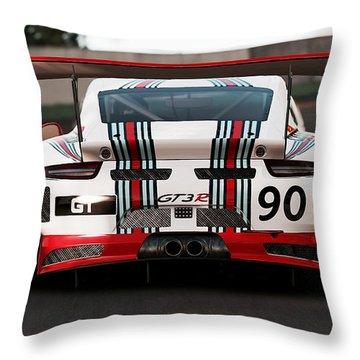 Porsche Gt3, Martini Racing, Monza - 03 Throw Pillow