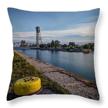Port Colborne Throw Pillow