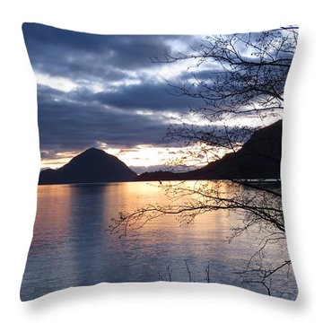 Port Eau Cove Throw Pillow