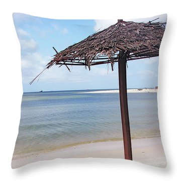 Port Gentil Gabon Africa Throw Pillow