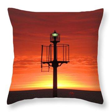 Port Hughes Lookout Throw Pillow