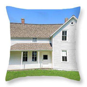 Port Oneida Farm House Throw Pillow