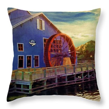 Port Orleans Riverside Throw Pillow