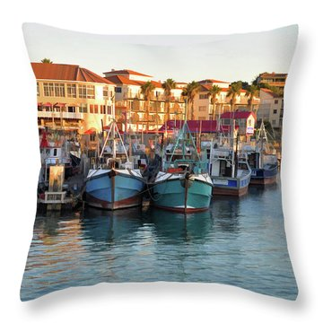 Port St. Francis Throw Pillow
