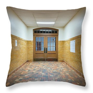Port Washington High School 27 Throw Pillow