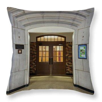 Port Washington High School 29 Throw Pillow
