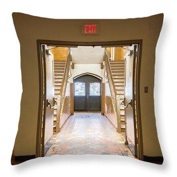 Port Washington High School 33 Throw Pillow