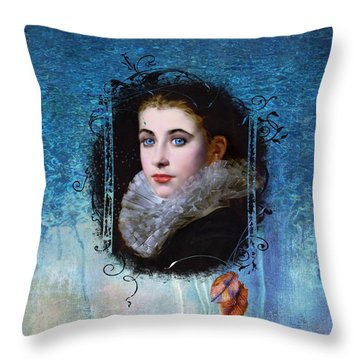Portal Portrait Throw Pillow