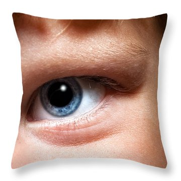 Portal To The Soul Throw Pillow by Christopher Holmes