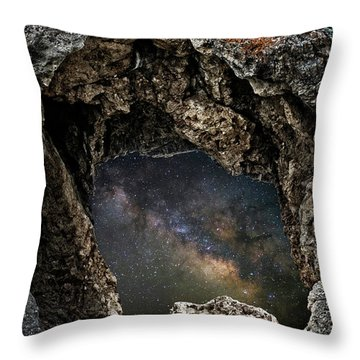 Throw Pillow featuring the photograph Portal To The Universe by Scott Read