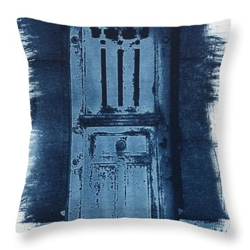 Portals Throw Pillow by Jane Linders