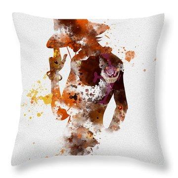 Portgas D. Ace Throw Pillow