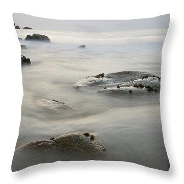Porthmeor Cove Throw Pillow