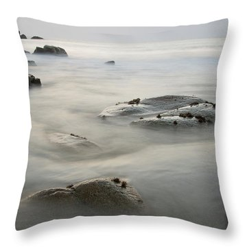 Porthmeor Cove Throw Pillow