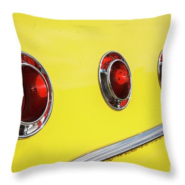 Throw Pillow featuring the photograph Portholes by Dennis Hedberg