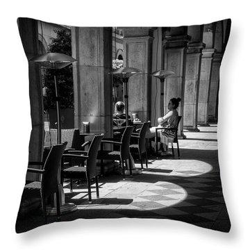 Portico Conversation Throw Pillow
