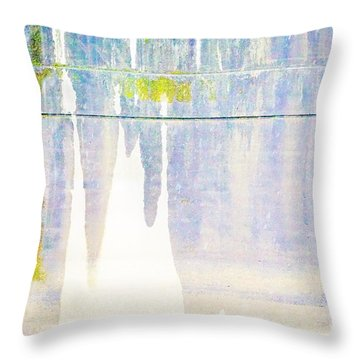 Portland Bridge Support Throw Pillow