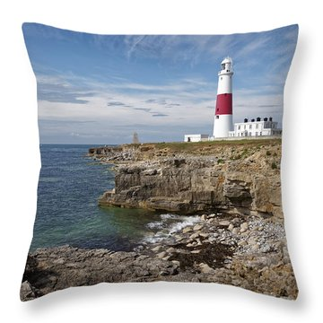 Portland Lighthouse Throw Pillow