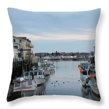 Portland Maine  Throw Pillow