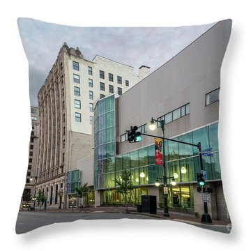 Portland Public Library, Portland, Maine #134785-87 Throw Pillow