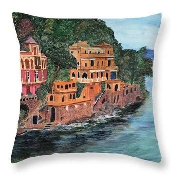 Porto Fino Throw Pillow