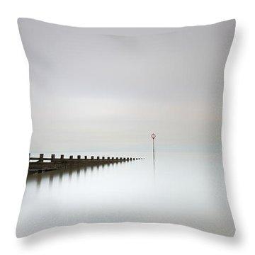 Throw Pillow featuring the photograph Portobello, Edinburgh by Grant Glendinning