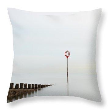 Throw Pillow featuring the photograph Portobello by Grant Glendinning