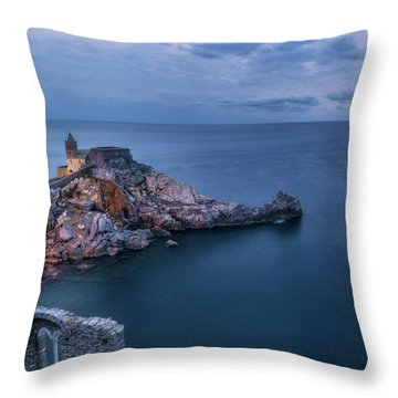 Portovenere Throw Pillow