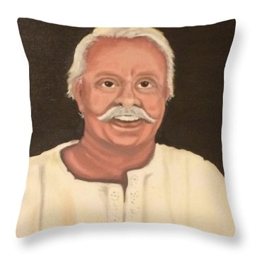 Portrait 2 Throw Pillow