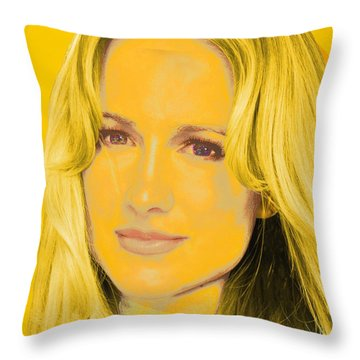 Portrait C1 Throw Pillow