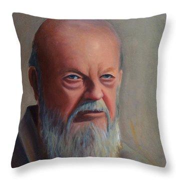 Portrait Class #1 Throw Pillow