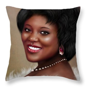 Portrait Commision  Throw Pillow