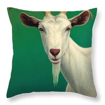 Goat Throw Pillows