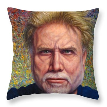 Satire Throw Pillows