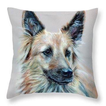 Portrait Of Sasha Throw Pillow